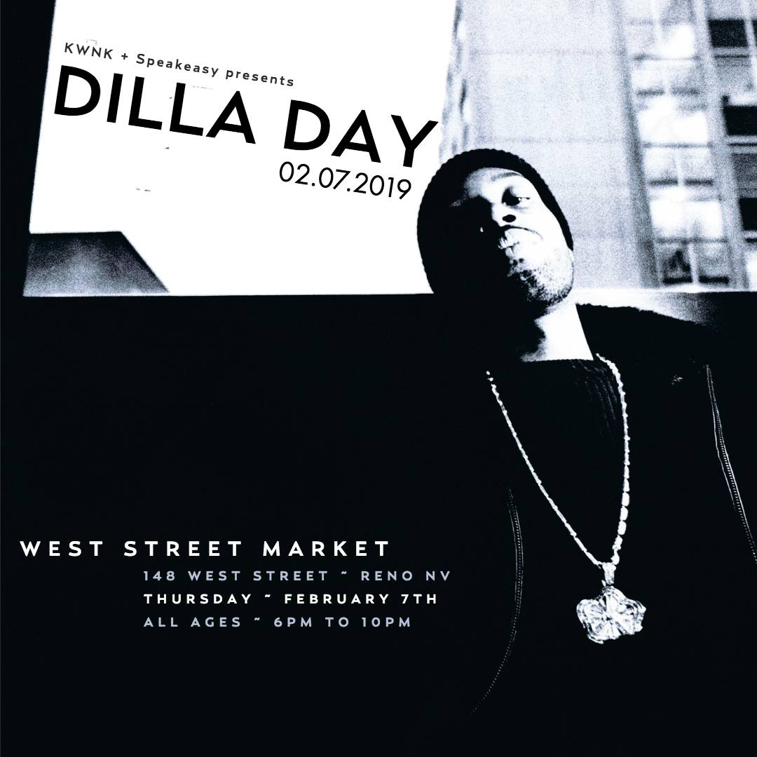 Celebrate Dilla Day with KWNK at West Street Market!