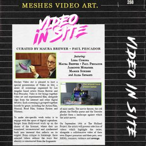 INTERVIEW: Meshes Video Art Presents Video In Site