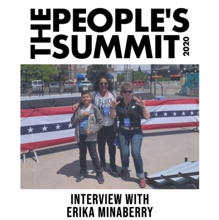Mass Liberation Radio // The People's Summit 2020 // Erika Minaberry