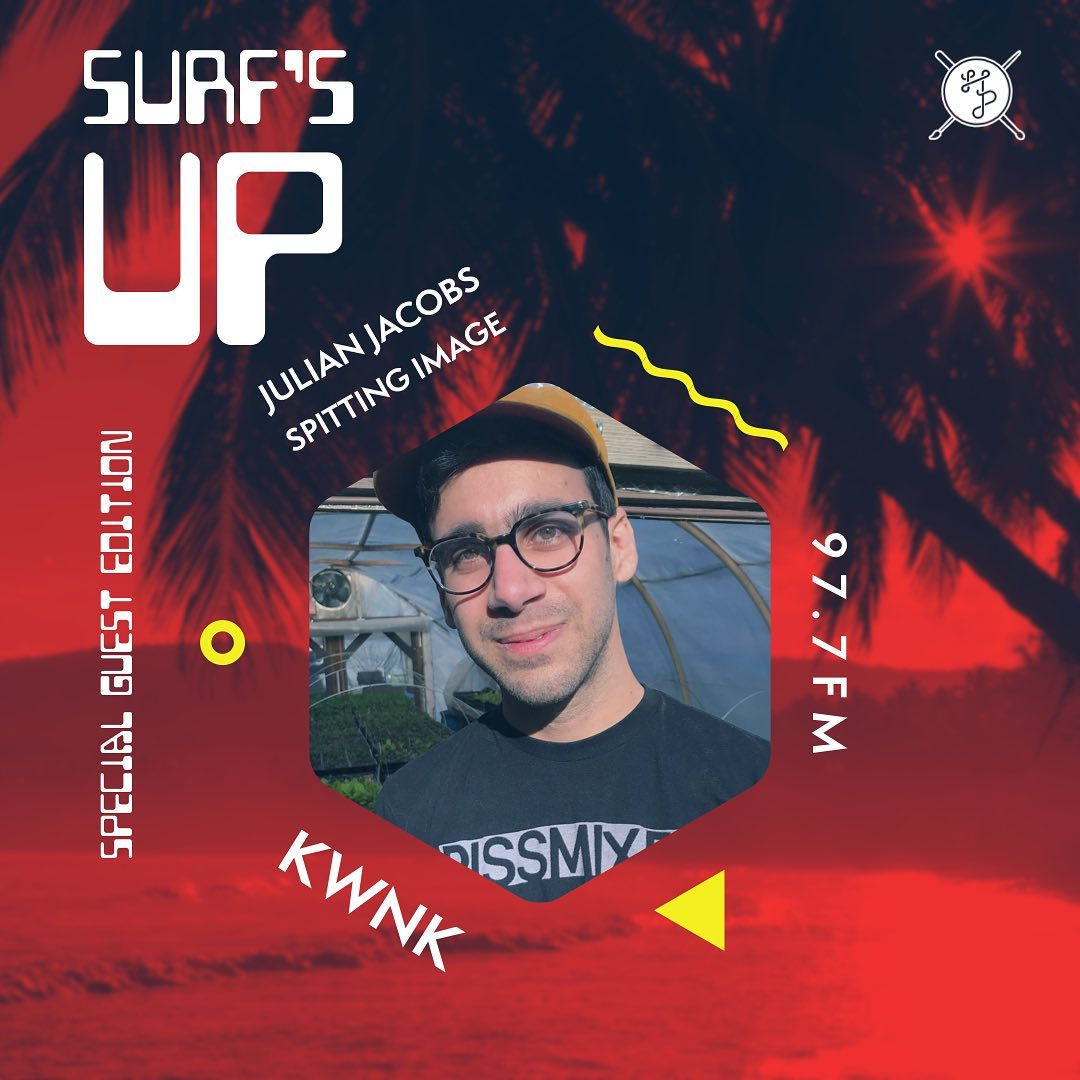 SURF'S UP Special Guest Edition: Julian of Spitting Image
