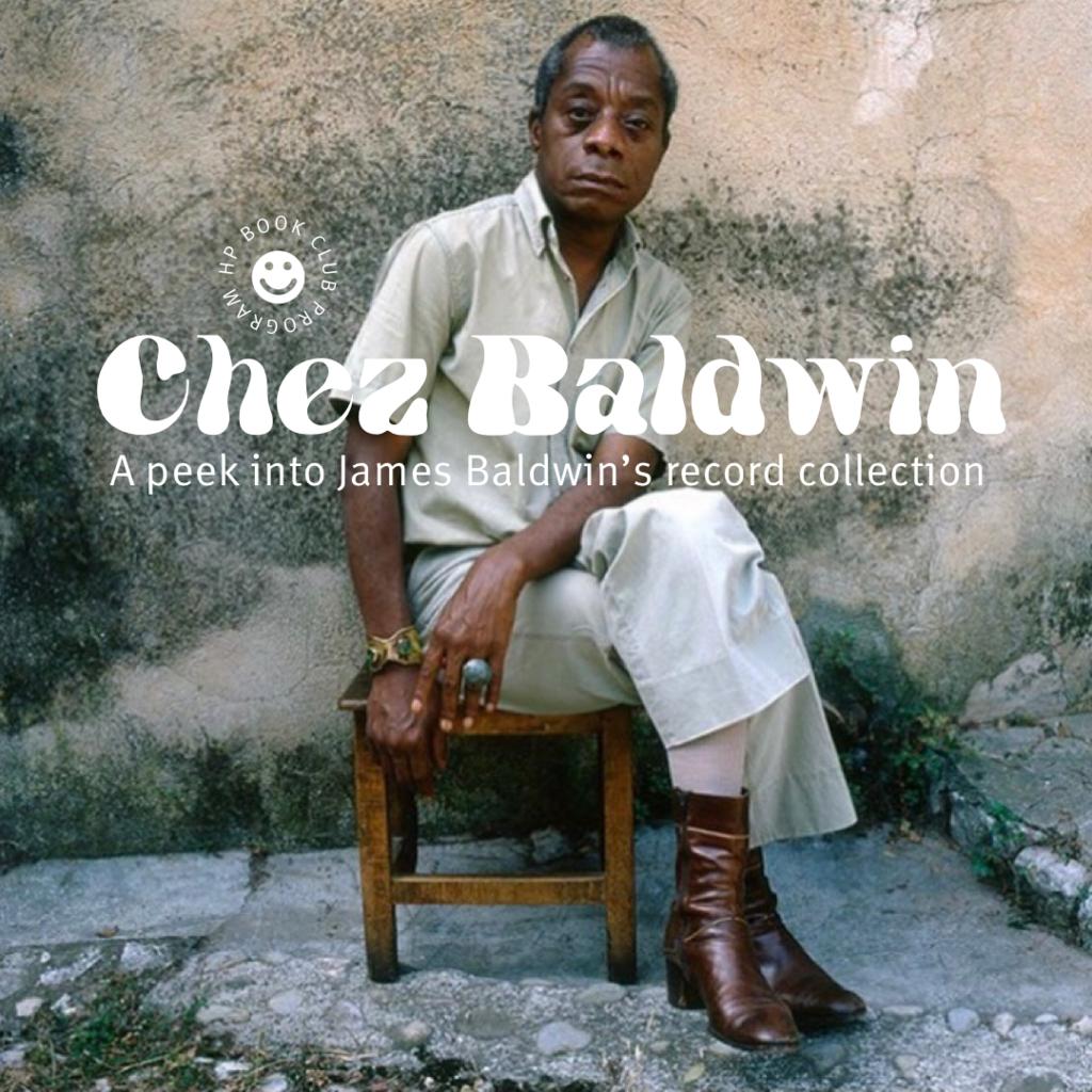 Chez Baldwin: A peek into James Baldwin's record collection