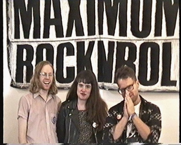 Another non-Map of the Undeground: A Conversation with Grace Ambrose about DIY, Maximum Rock n Roll, and Other Stuff