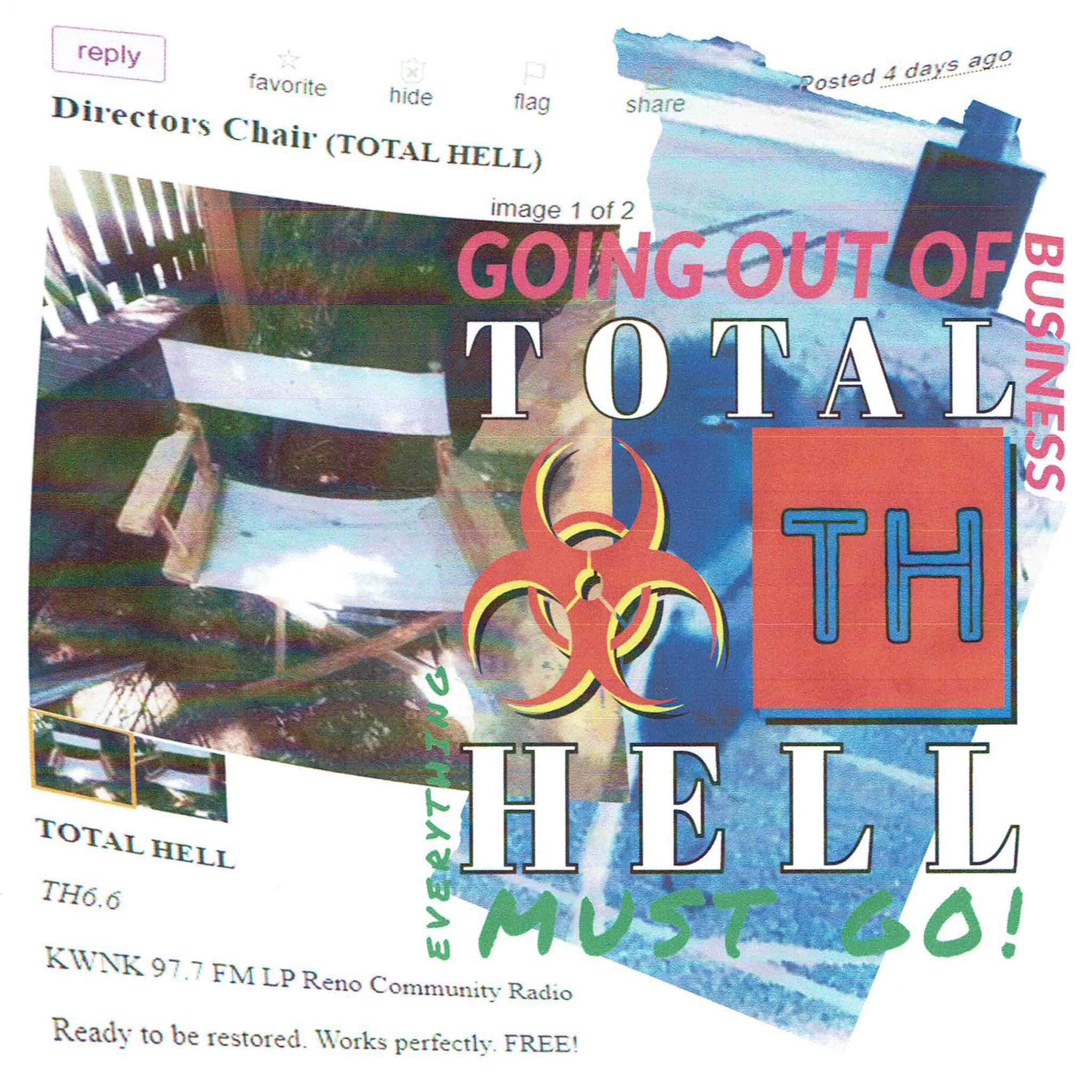 TOTAL HELL Says Goodbye: A Rare Look Behind the Scenes of the Subversive KWNK Radio Show